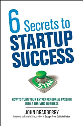 '6 Secrets to Startup Success: How to Turn Your Entrepreneurial Passion into a Thriving Business' by John Bradberry