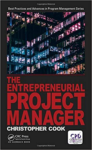 'The Entrepreneurial Project Manager' by Chris Cook