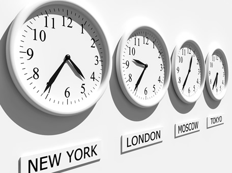 Distributed teams - time zones